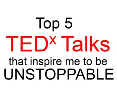 text Top 5 TEDx Talks
